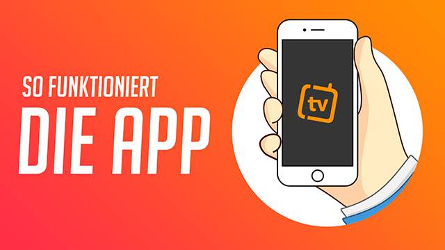 So funktioniert unsere iPhone-App