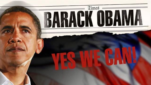 Barack Obama - Yes we can!