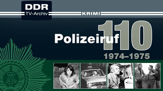 Polizeiruf 110 - 1974-1975