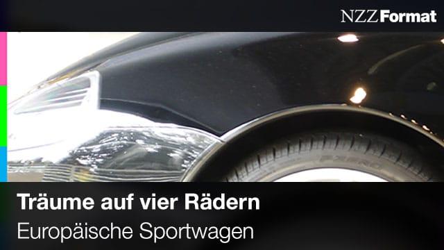 NZZ - Träume auf 4 Rädern - Europäische Sportwagen