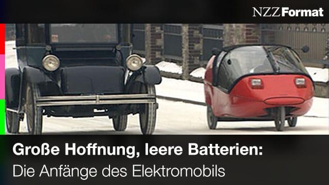 NZZ - Große Hoffnung - Leere Batterien