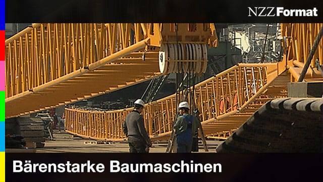 NZZ - Bärenstarke Baumaschinen