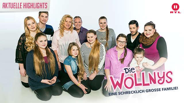 RTL II - Die Wollnys - Eine schrecklich große Familie