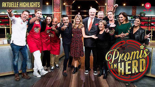 RTL II - Promis am Herd